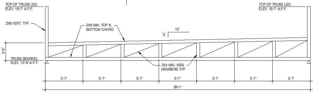 Structural Engineering Re Diaphragm Chord Wood Roof